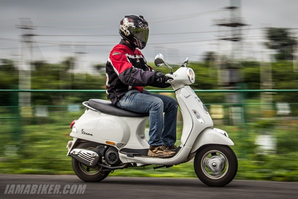 Vespa 125 lx engine and performance
