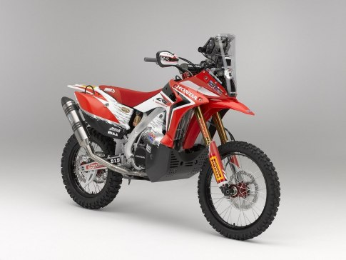 Honda CRF450 rally -1