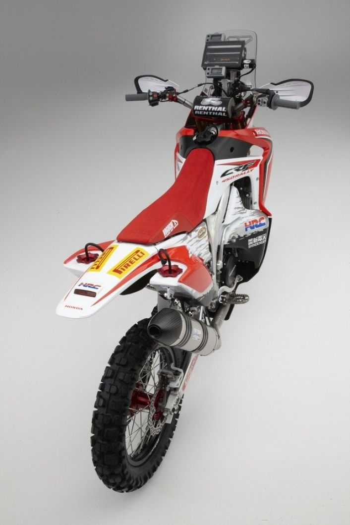 Honda CRF450 rally -4