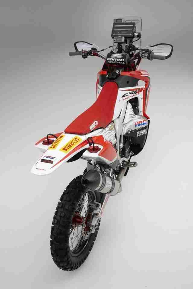 Honda CRF450 rally -4
