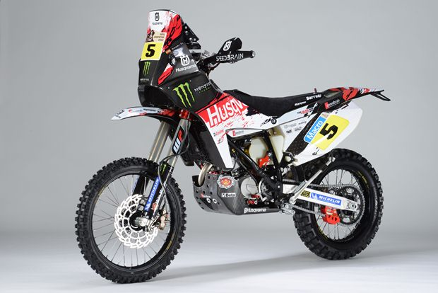 New Husqvarna TE449 RR by Speedbrain