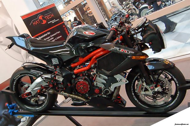 Benelli TNT Tornado 1130 193BHP of supercharged fun