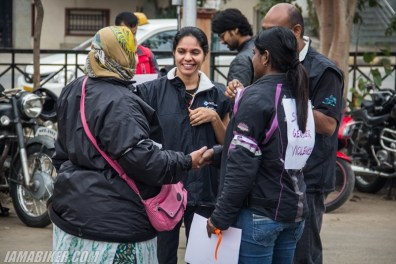 Bikerni Safety for Women ride - Bangalore - 08