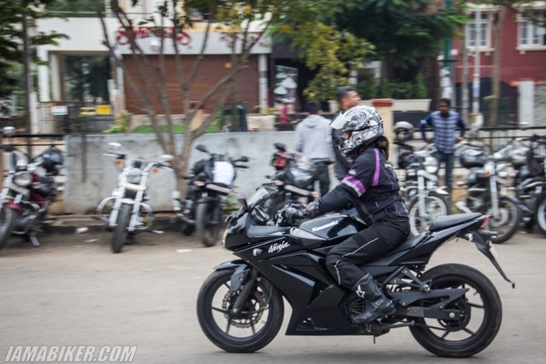 Bikerni Safety for Women ride - Bangalore - 10