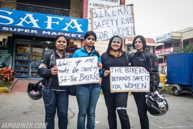 Bikerni Safety for Women ride - Bangalore - 17