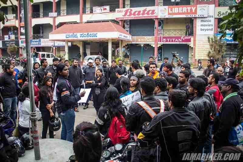 Bikerni Safety for Women ride - Bangalore - 19