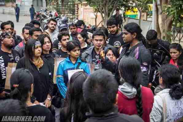 Bikerni Safety for Women ride - Bangalore - 22