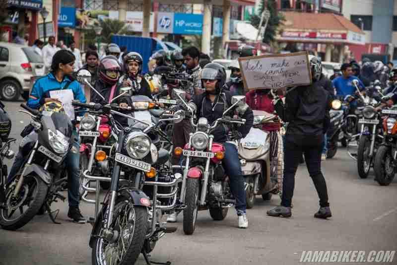 Bikerni Safety for Women ride - Bangalore - 35