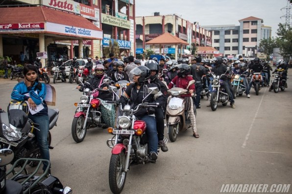 Bikerni Safety for Women ride - Bangalore - 37