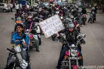Bikerni Safety for Women ride - Bangalore - 39
