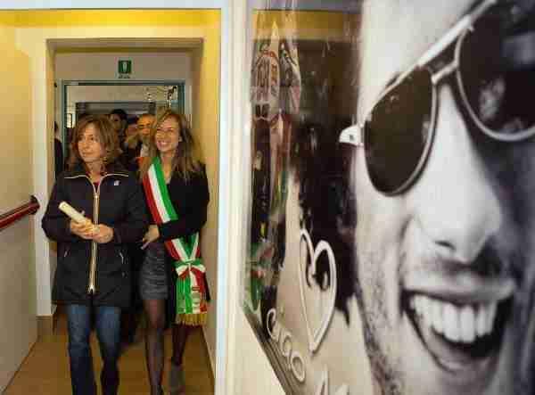 Marco Simoncelli memorial and exhibition - 01
