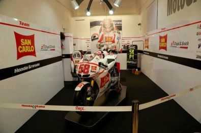 Marco Simoncelli memorial and exhibition - 02
