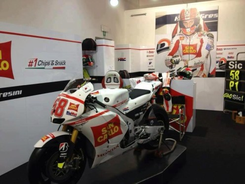 Marco Simoncelli memorial and exhibition - 09
