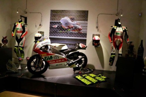 Marco Simoncelli memorial and exhibition - 10