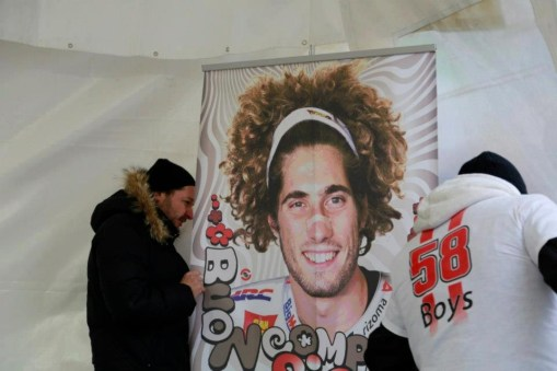 Marco Simoncelli memorial and exhibition - 13