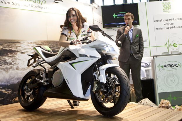 eCRP Energica production version bookings begin