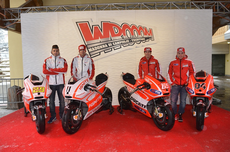 Andrea Iannone, Ben Spies, Nicky Hayden, Andrea Dovizioso