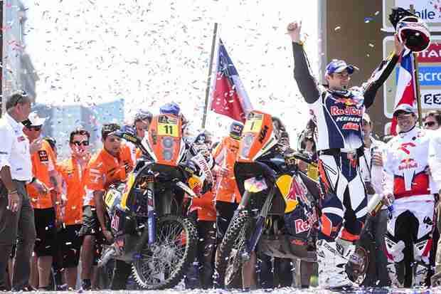 Cyril Despres 2013 Dakar Rally