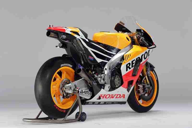 Honda RC213V specifications - 19