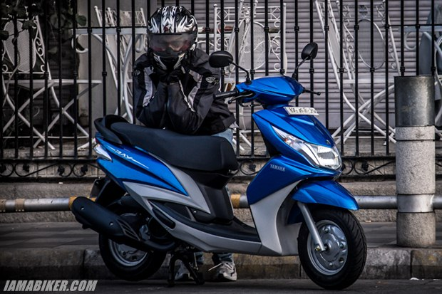 new Yamaha 125cc male scooter