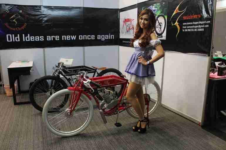 2013 Bangkok Motorbike Festival photographs - 27