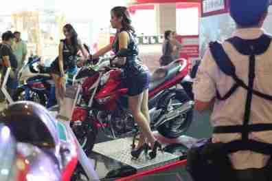 2013 Bangkok Motorbike Festival photographs - 35