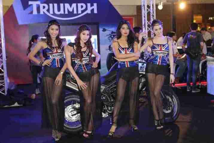2013 Bangkok Motorbike Festival photographs - 55