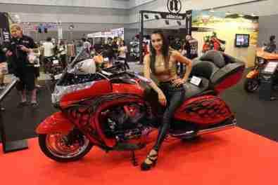 2013 Bangkok Motorbike Festival photographs - 57