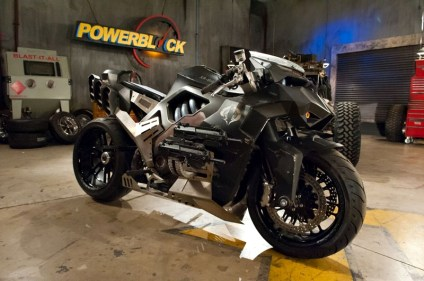 GI Joe motorcycle Ducati Monster - 01