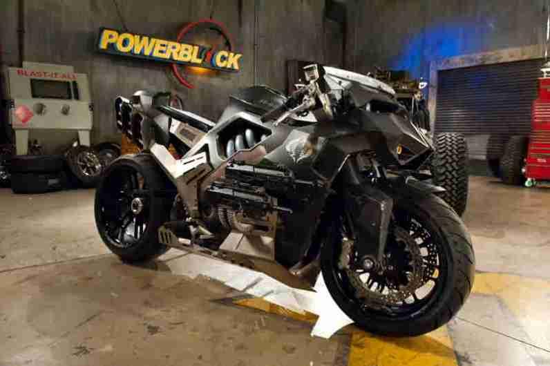 GI Joe motorcycle Ducati Monster - 01