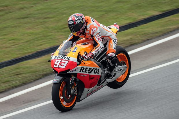 Marc marquez Honda continue dominance at Sepang continues
