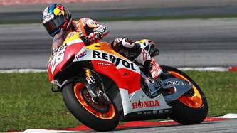 Pedrosa and Marquez in top 3 at Sepang testing