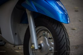 Yamaha Ray scooter India - 01