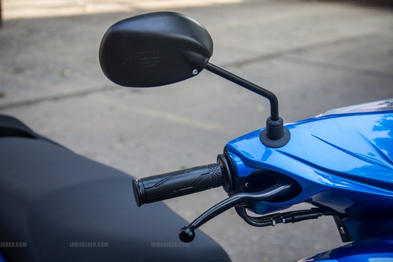 Yamaha Ray scooter India - 08