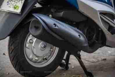 Yamaha Ray scooter India - 14