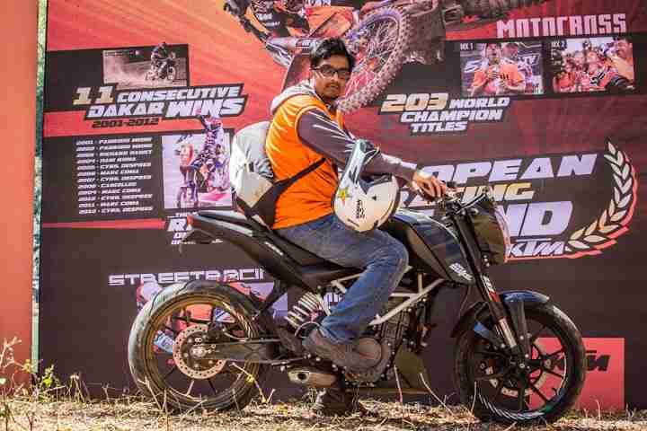 ktm orange ride bangalore to sangam (5)