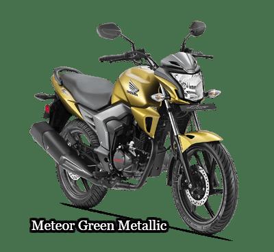 meteor-green honda cb trigger