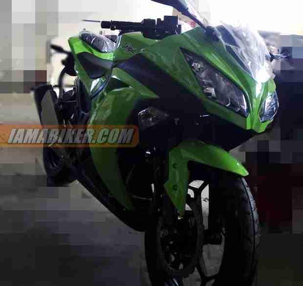 ninja 300 india launch soon