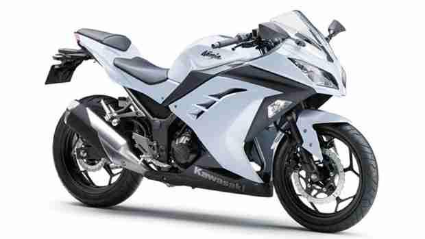 Kawasaki-Ninja-300-white india
