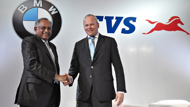 tvs bmw partnership