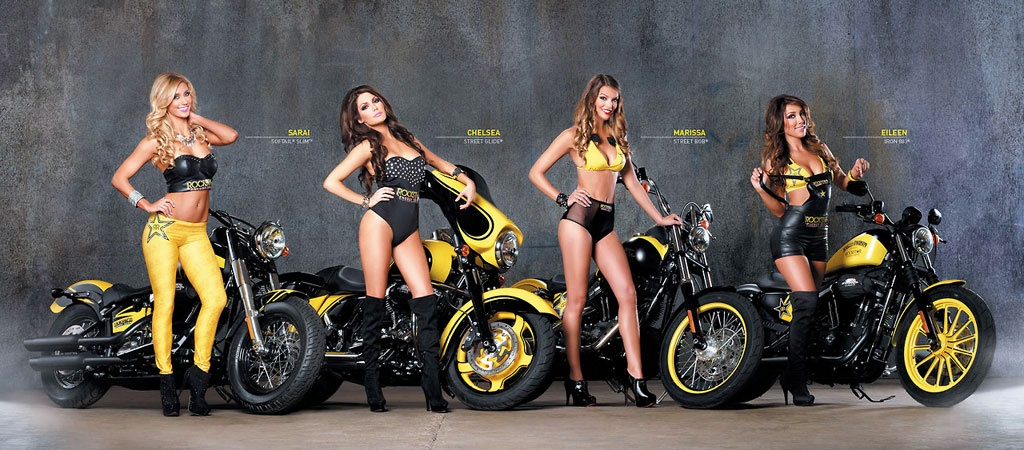 Harley Davidson Rockstar Energy 11