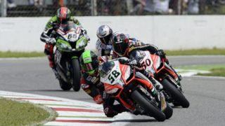 Melandri and Laverty dominate WSBK Monza