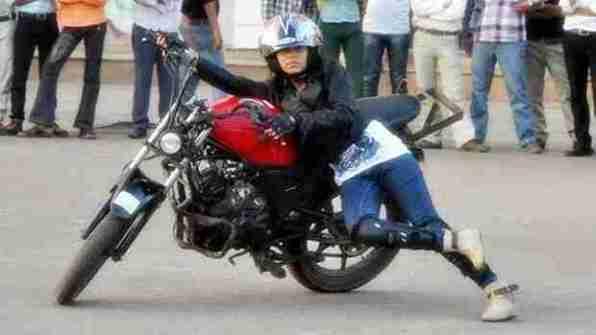 stunt girl india