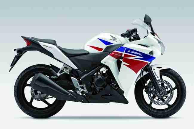 2013 Honda CBR250R White