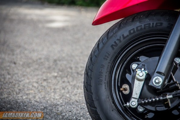 yamaha ray z front tyre
