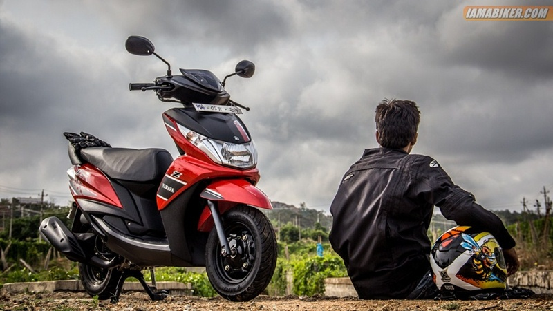 yamaha ray z test rider: ashwin shridhar