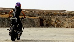 anam hasim - stunt girl india - 01