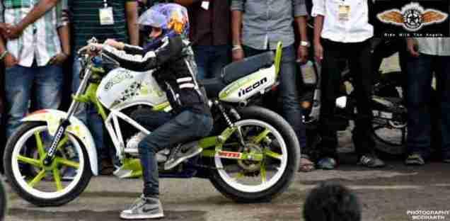 anam hasim - stunt girl india - 07