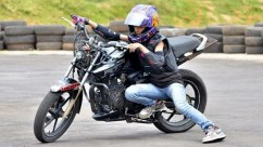 anam hasim - stunt girl india - 09