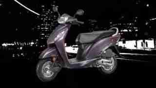 new honda activa i purple